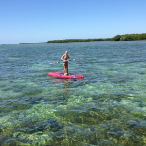 paddle boarding in ke