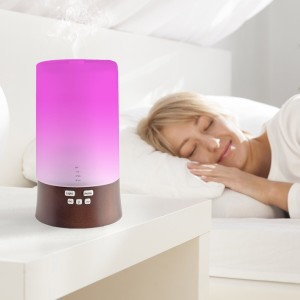 Aromatherapy diffuser-sound and light