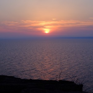Cape Kaliakra sunset