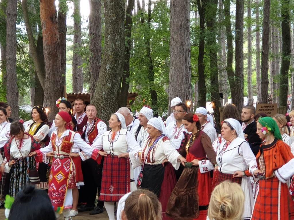 Folk costume festival Jeravna, Bulgaria