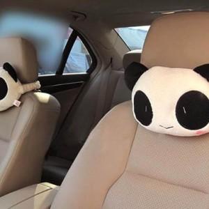 Panda car seat cushion