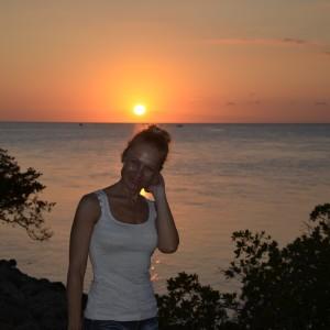 Key west sun set