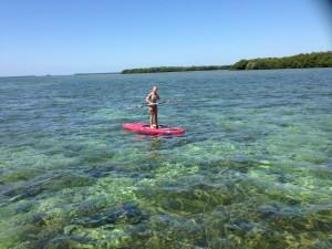 paddle boarding in ke