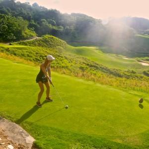 Golf at Black Pearl, Roatan