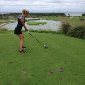 Golf at Black Pearl Resort, Roatan, Honduras