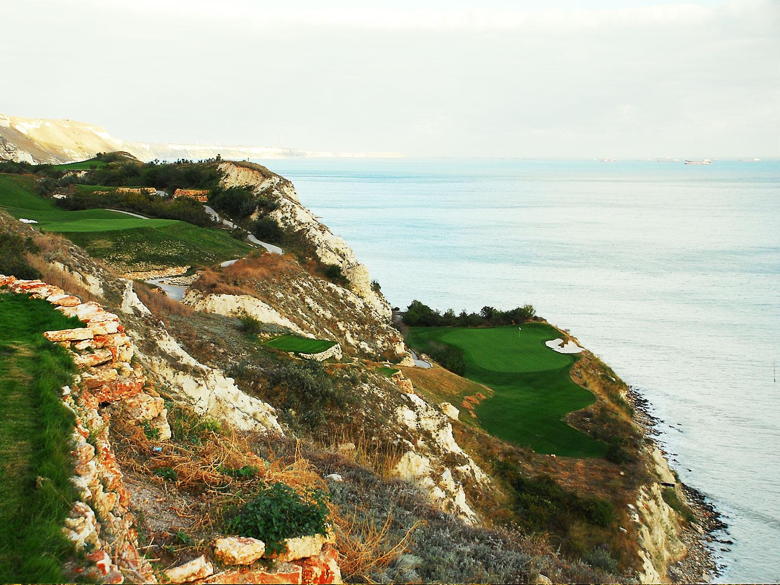 Golf at Thracian Clliffs, Bulgaria