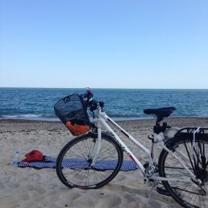 bike, Varna Beach